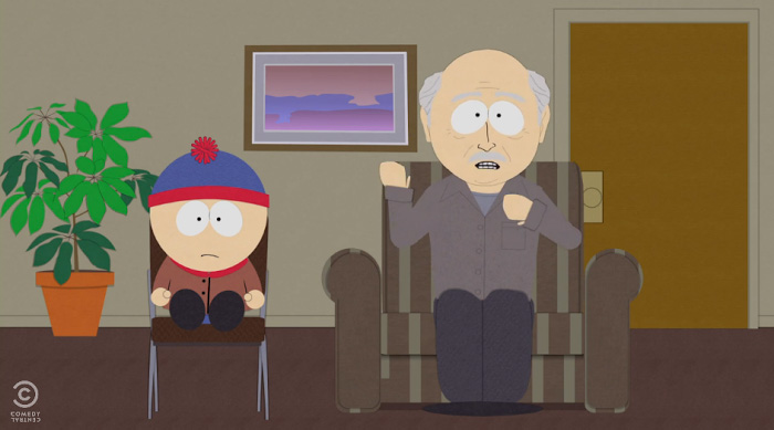 South Park lampoons Intervention